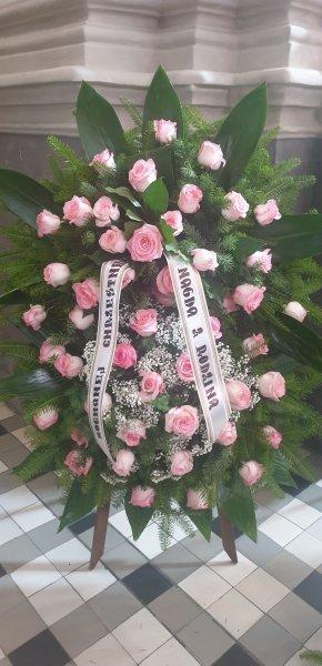 Wieńce pogrzebowe