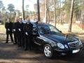 Podczas pogrzebu - karawan pogrzebowy